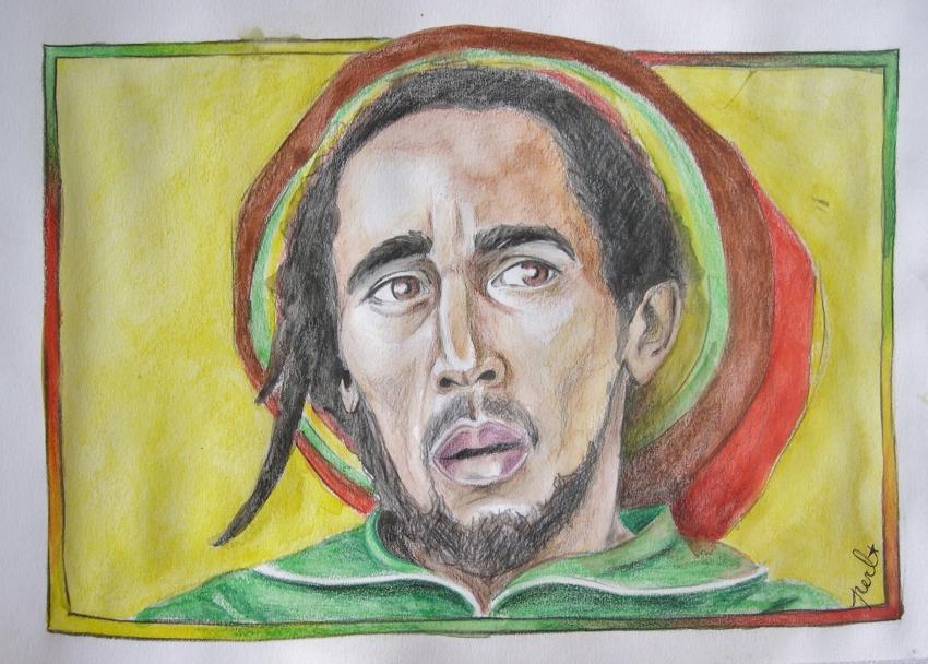 Bob Marley by Garance55